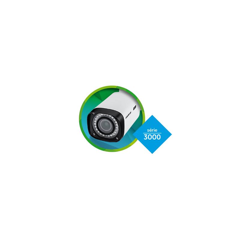 Câmera Intelbras Bullet Varifocal VHD 3140 VF G4 Ajustável Zoom e Foco (1.0MP | 720p | 2.8mm~12mm | Metal)