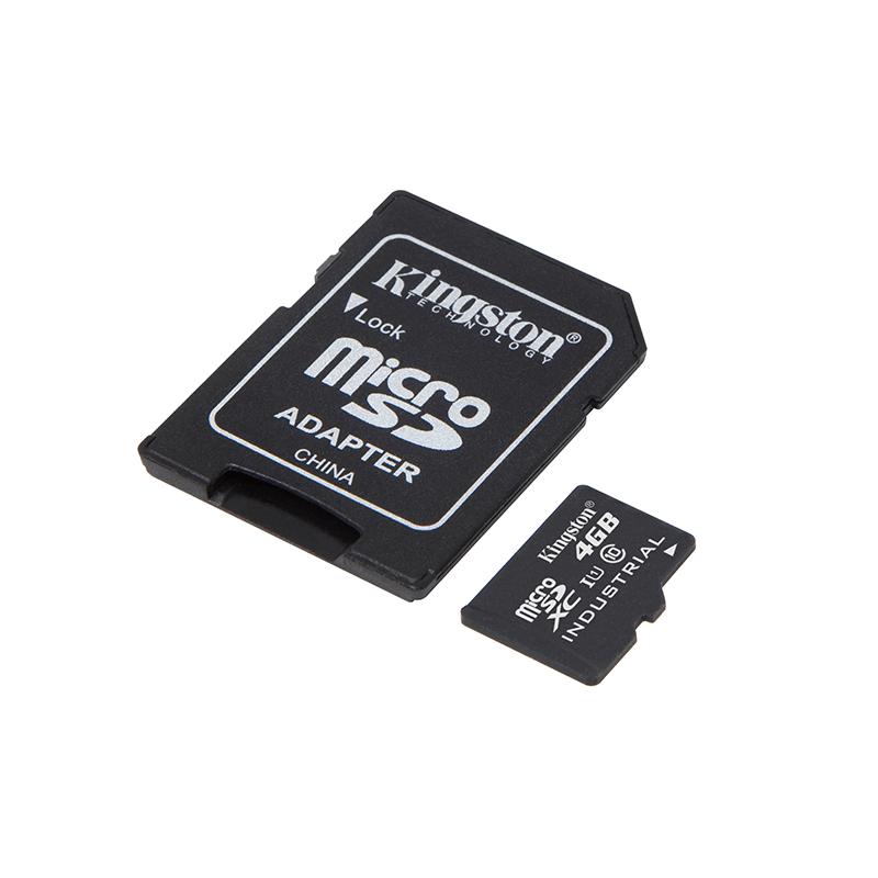 Cartão de Memoria Micro SD 4GB Kingston com Adaptador
