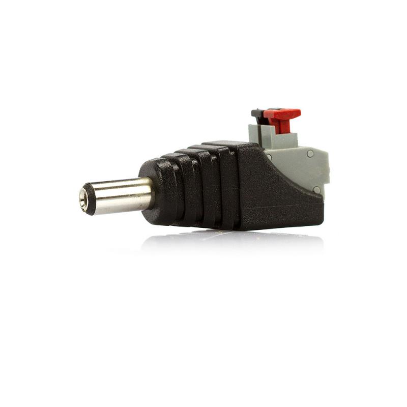 Conector P4 Macho de Engate Rápido para CFTV