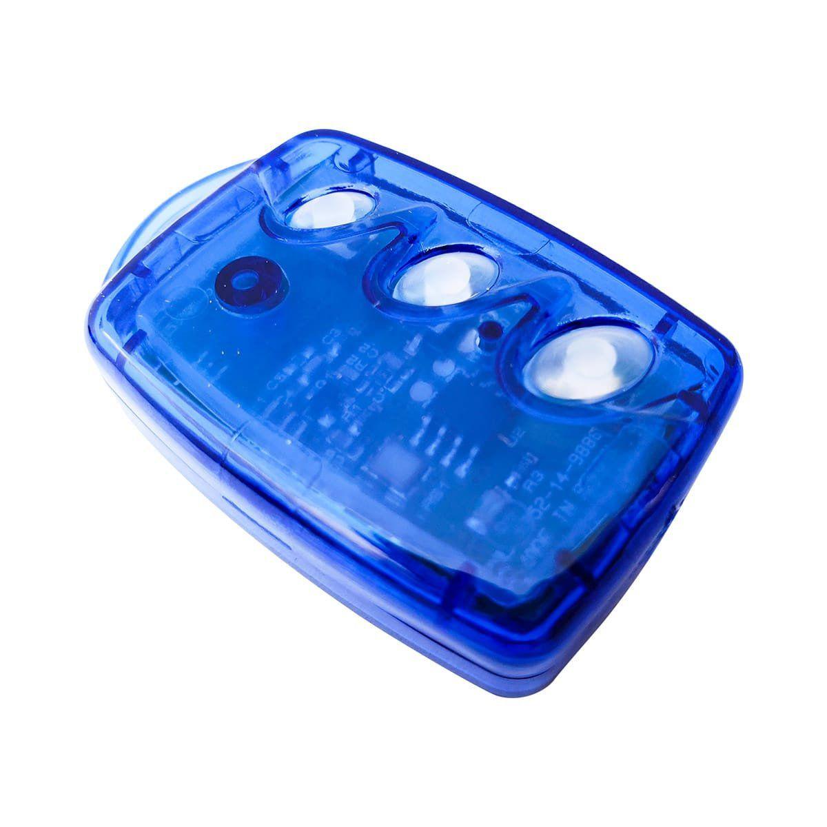 Controle Remoto Transmissor RF Linear TX 3TB - Azul