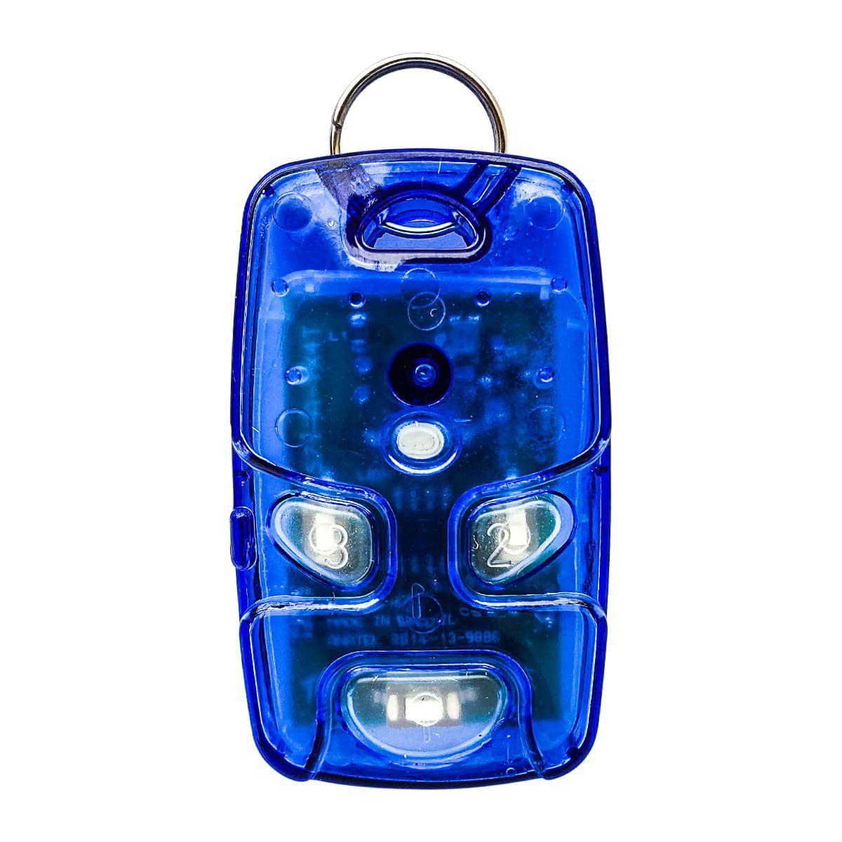 Controle Remoto Transmissor RF Linear TX 4TA - Azul.