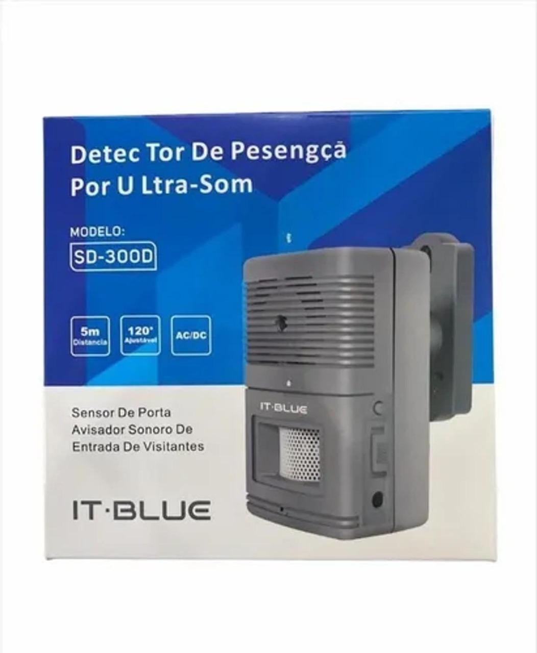 Detector de Presença por Ultra Som IT-BLUE SD-300D
