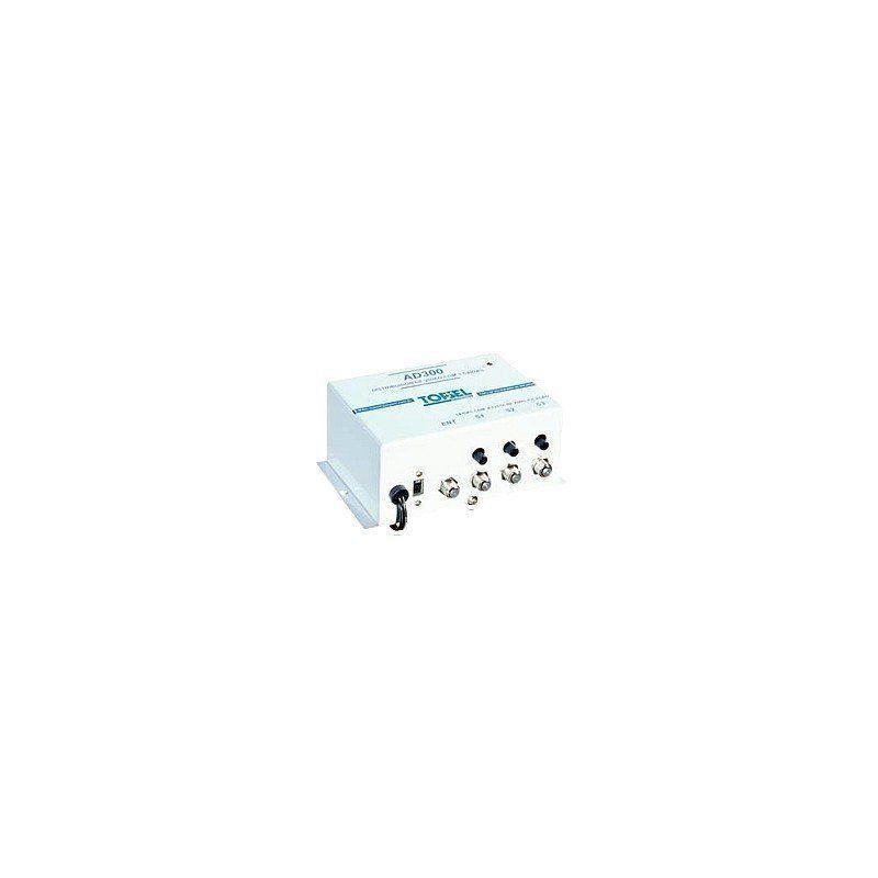 Distribuidor amplificador de sinal de vídeo 3 saídas.