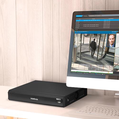 DVR Intelbras 16 Canais Multi HD 4MP iMHDX 3016