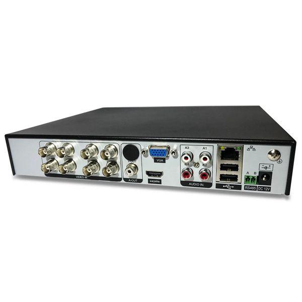 DVR Segurimax 08 Canais 5 em 1 Multifunções.