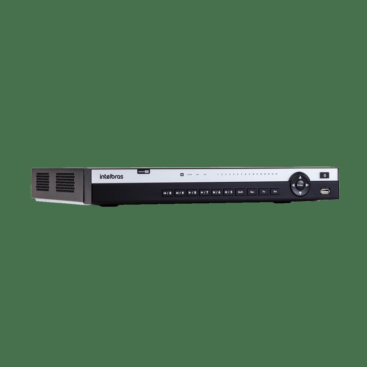 DVR Intelbras MHDX 5116 16 Canais 4K