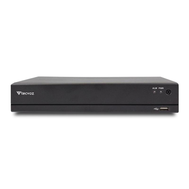 DVR Tecvoz 04 Canais Flex HD Linha Inteligente TV-E504