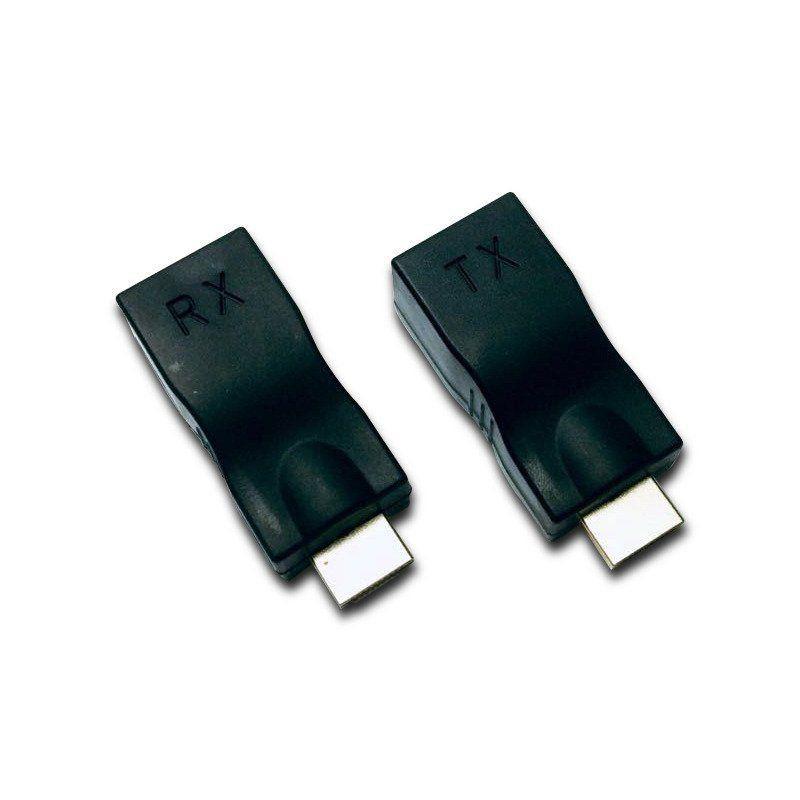Extensor HDMI Lotus 01 Porta Full HD 3D até 30 Metros via Cabo de Rede Cat5e/6