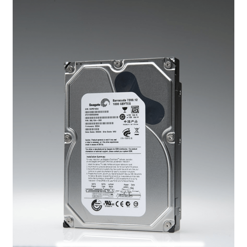 HD Sata Seagate 1TB - Refurbished