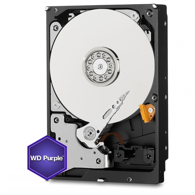 HD Sata Western Digital (WD) Purple 2TB - Sugerido pela Intelbras.