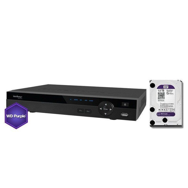 HD Sata Western Digital (WD) Purple 3TB - Sugerido pela Intelbras.