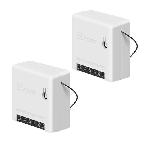 Kit com 2 SONOFF MINI - Interruptor Inteligente MINI Wi-Fi DIY