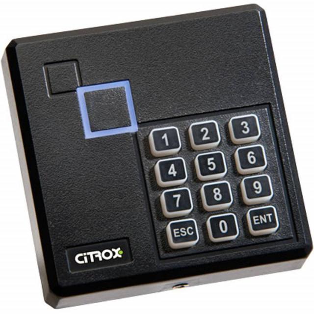 Leitor RFID 125 KHZ Evolution com Teclado à Prova D' Água - CX-7311 Citrox