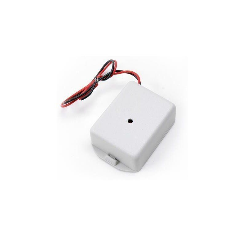 Microfone amplificado tipo caixa para dvr - profissional.