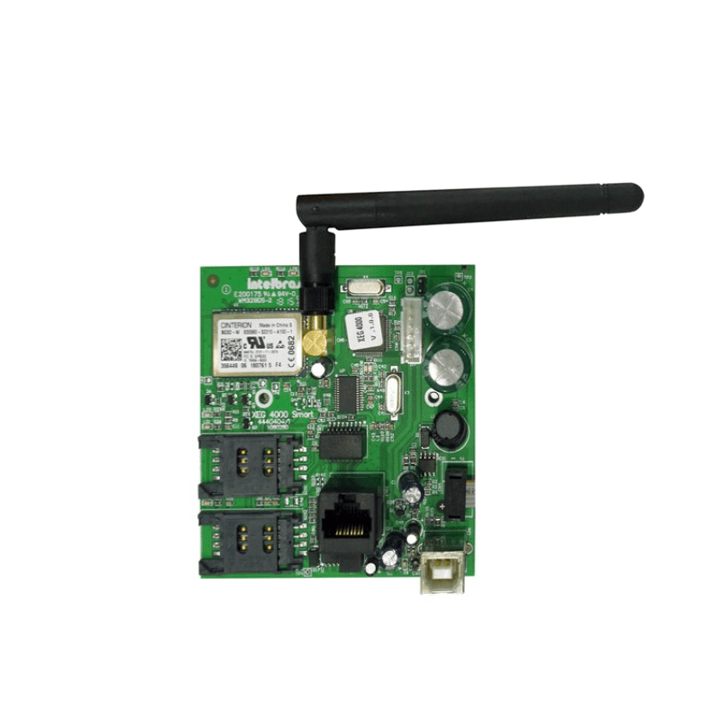 Modulo Ethernet e GPRS Intelbras XEG 4000 Smart