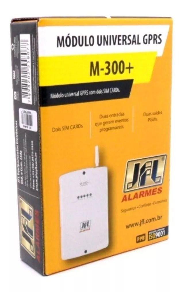 Módulo Universal GPRS com Dois SIM Cards M-300+ JFL