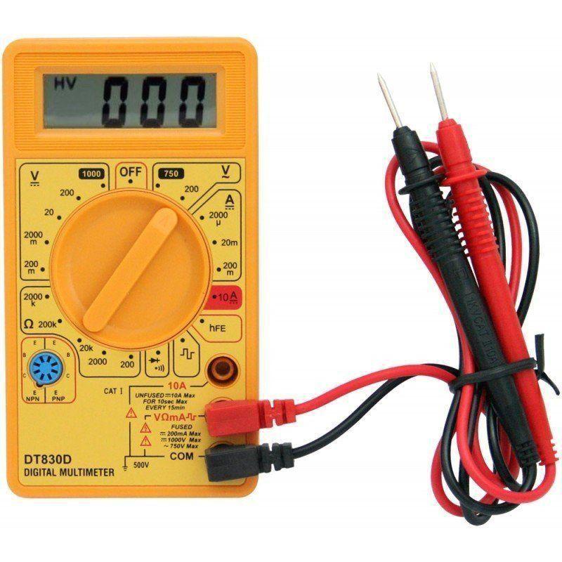 Multimetro Digital DT830b Profissional
