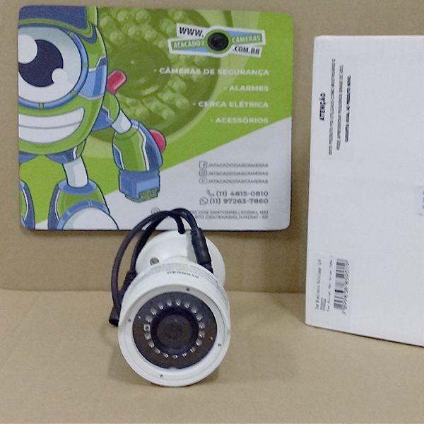 OUTLET - CÂMERA BULLET HD SERIE ORION 720P IR 30M 1/4 2.6MM IP66 - GS0022