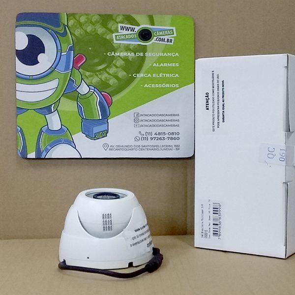 OUTLET - Câmera Giga GS0015 Dome Open HD Plus IR 30M IP66 (1.0MP | 720p | 2.6mm | Metal)
