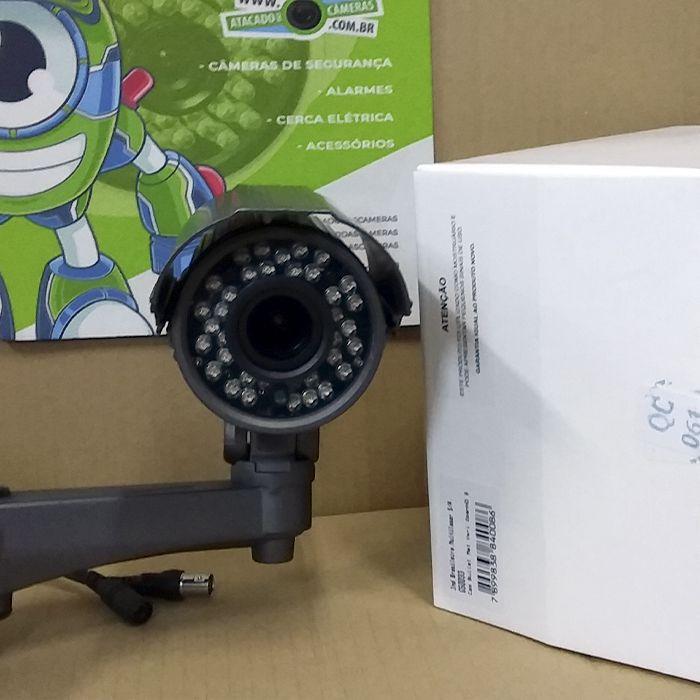 OUTLET - Câmera Giga GS0033 Bullet Varifocal Open HD Sony Exmor IR 50M UTC DWDR IP66 (2.0MP | 1080p | 2.8~12mm | Metal)
