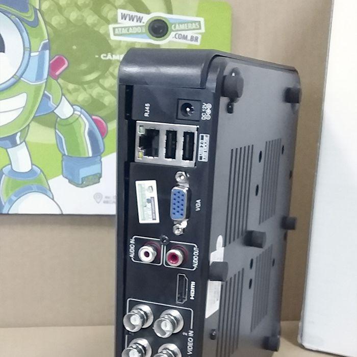 OUTLET - DVR Giga GS0082 04 Canais Open HD Lite 720P
