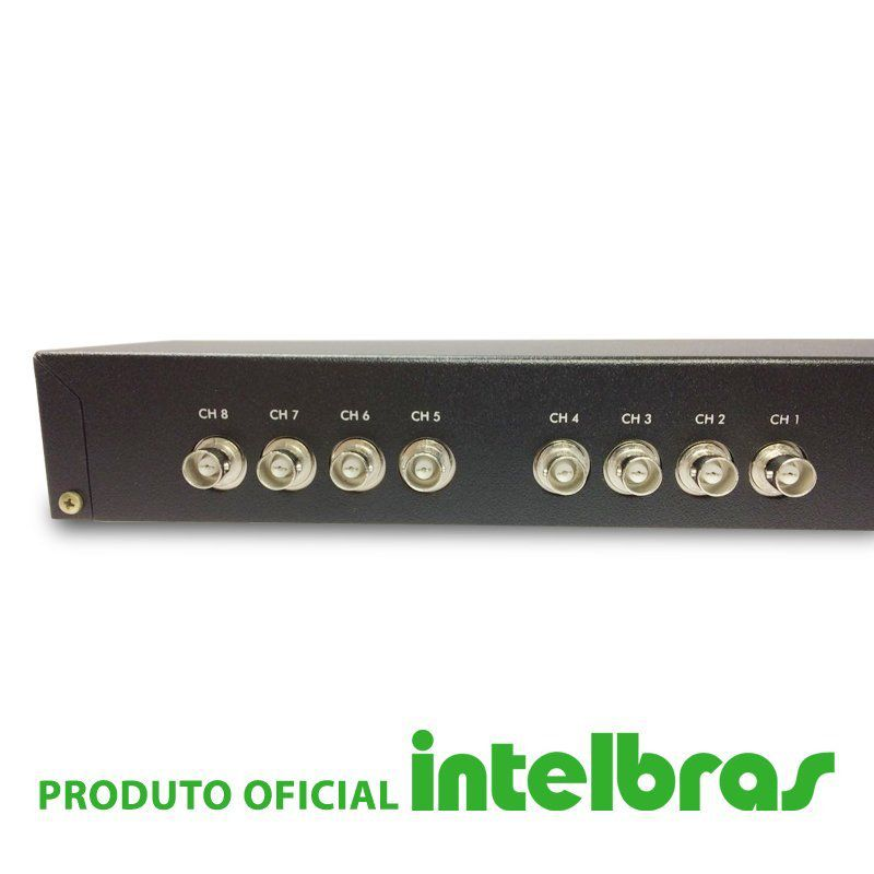 Rack Power Balun 08 Canais Intelbras VBP A08c!