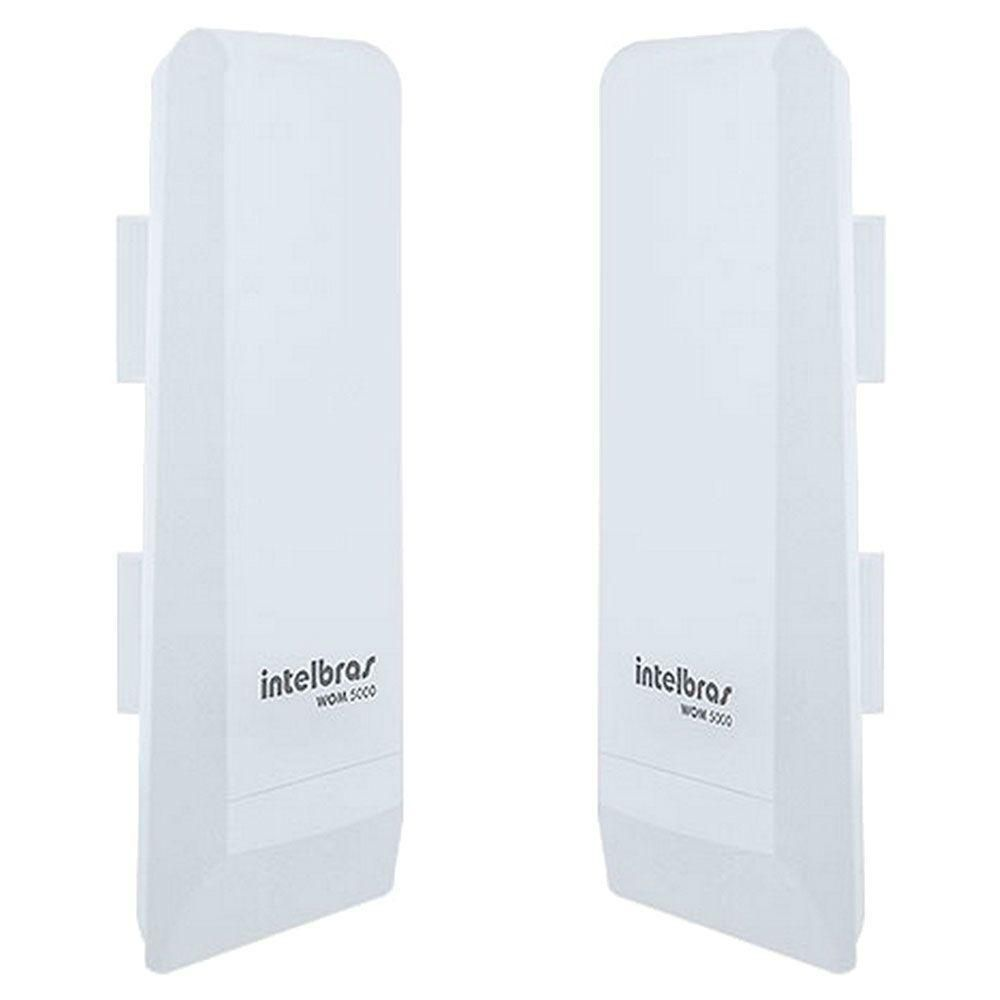 Roteador Intelbras Wireless Wom 5000I 12dbi CPE 5GHZ.