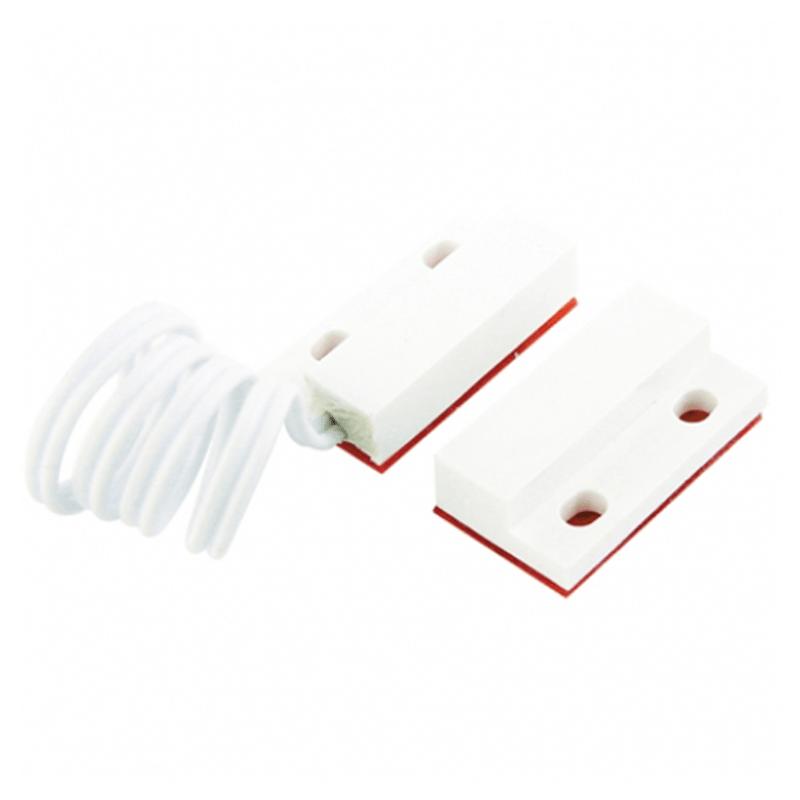 Sensor de Abertura Magnético de Sobrepor para Portas e Janelas