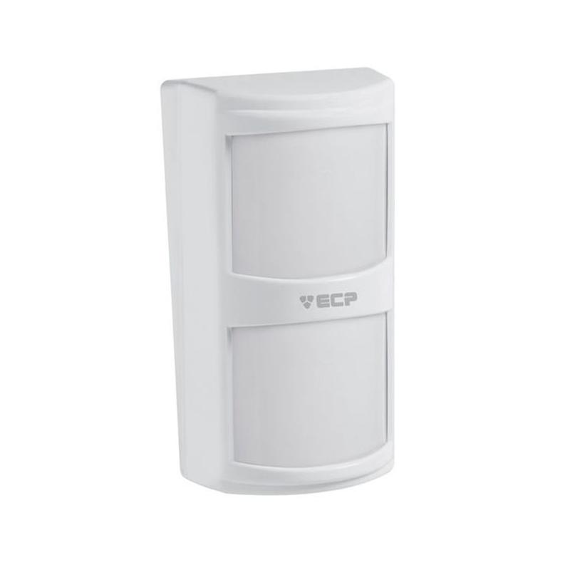 Sensor Infravermelho Passivo IVP com Fio ECP - Visory Duplo Semi Externo.