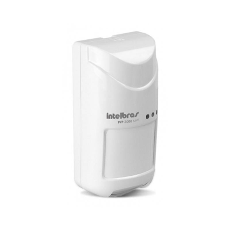 Sensor Infravermelho Passivo IVP com Fio Intelbras - 3000 Mw.