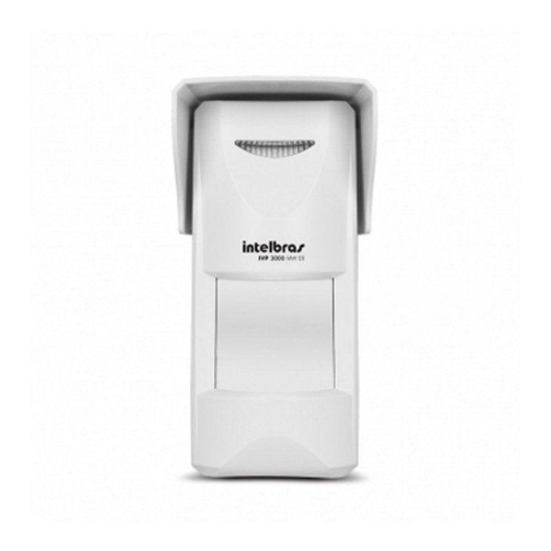 Sensor Infravermelho Passivo IVP com Fio Intelbras - 3000 Mw Ex