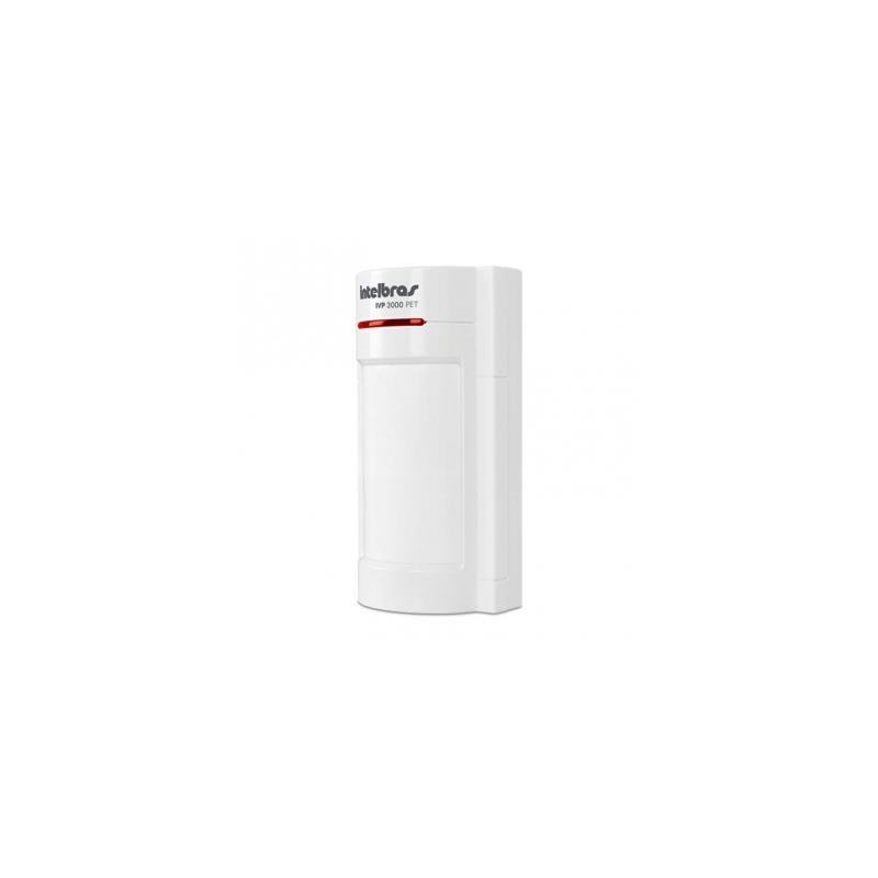 Sensor Infravermelho Passivo IVP com Fio Intelbras - 3000 Pet.