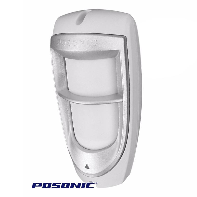 Sensor Infravermelho Passivo IVP com Fio Posonic - Duplo Feixe Externo