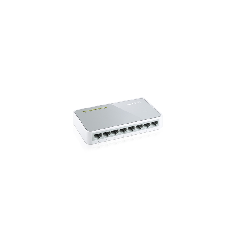 Switch de Rede TP-Link com 8 Portas 10/100Mbps - Tl-SF1008D.