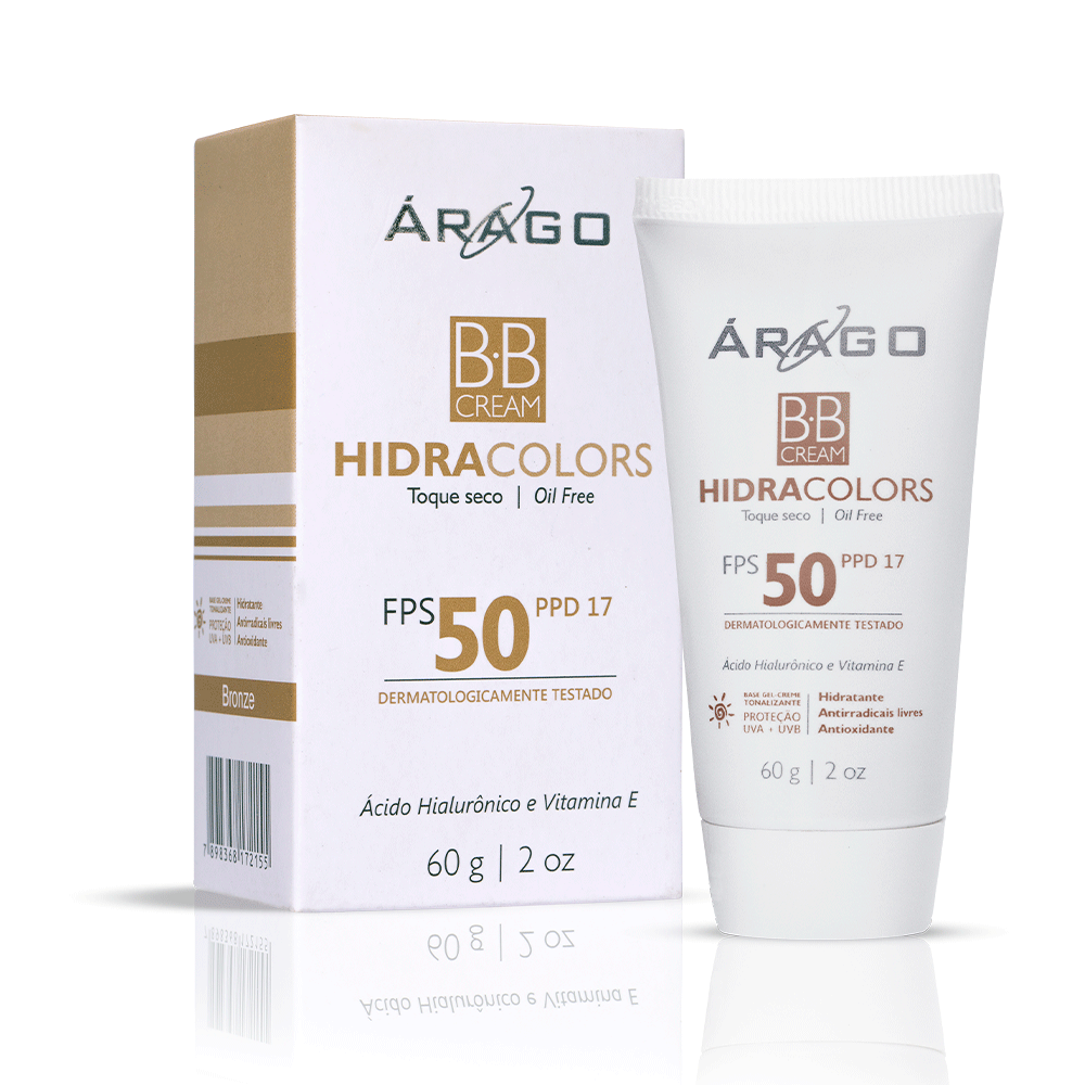 BB Cream HidraColors FPS 50 - Bronze 60g