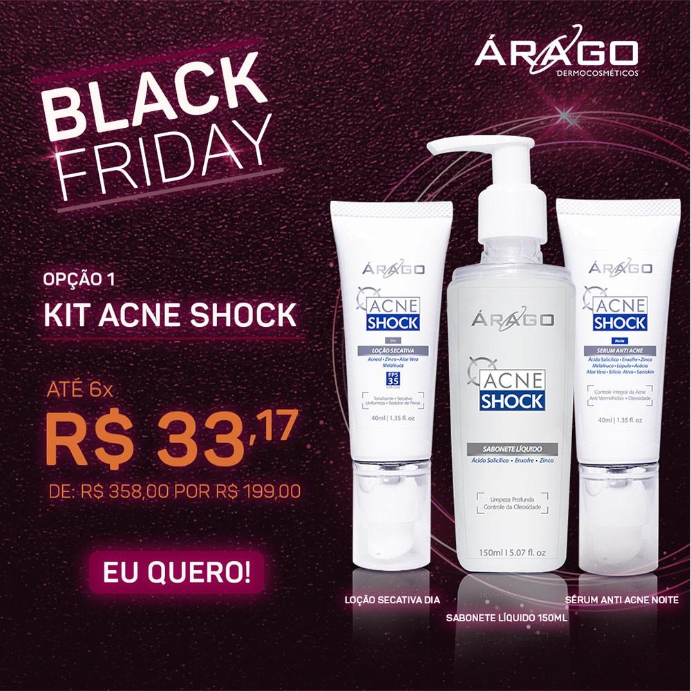 Kit Acne Shock 01 - Árago