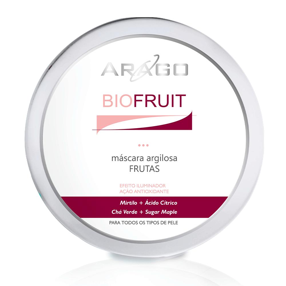 Máscara Argilosa de Frutas BioFruit 250g