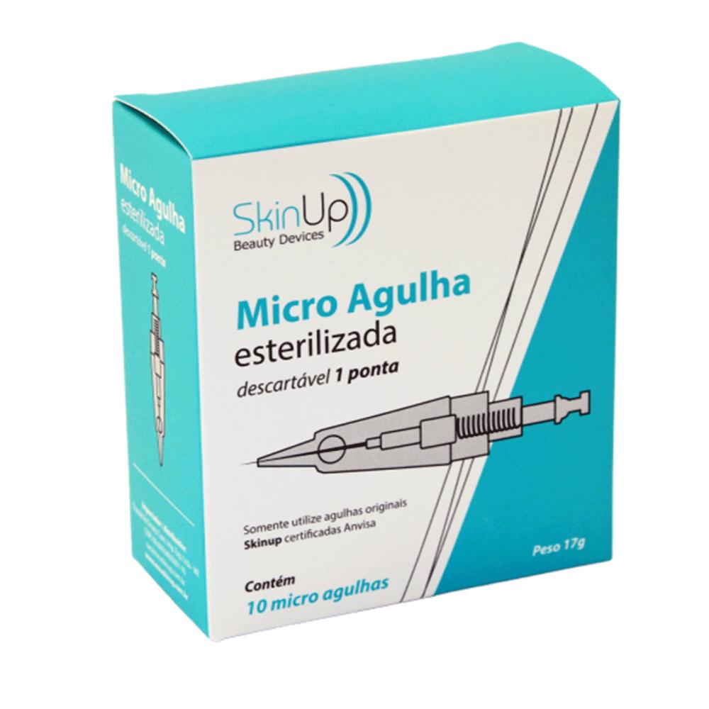 Micro Agulha Skinup 1 ponta - cx 10 unidades