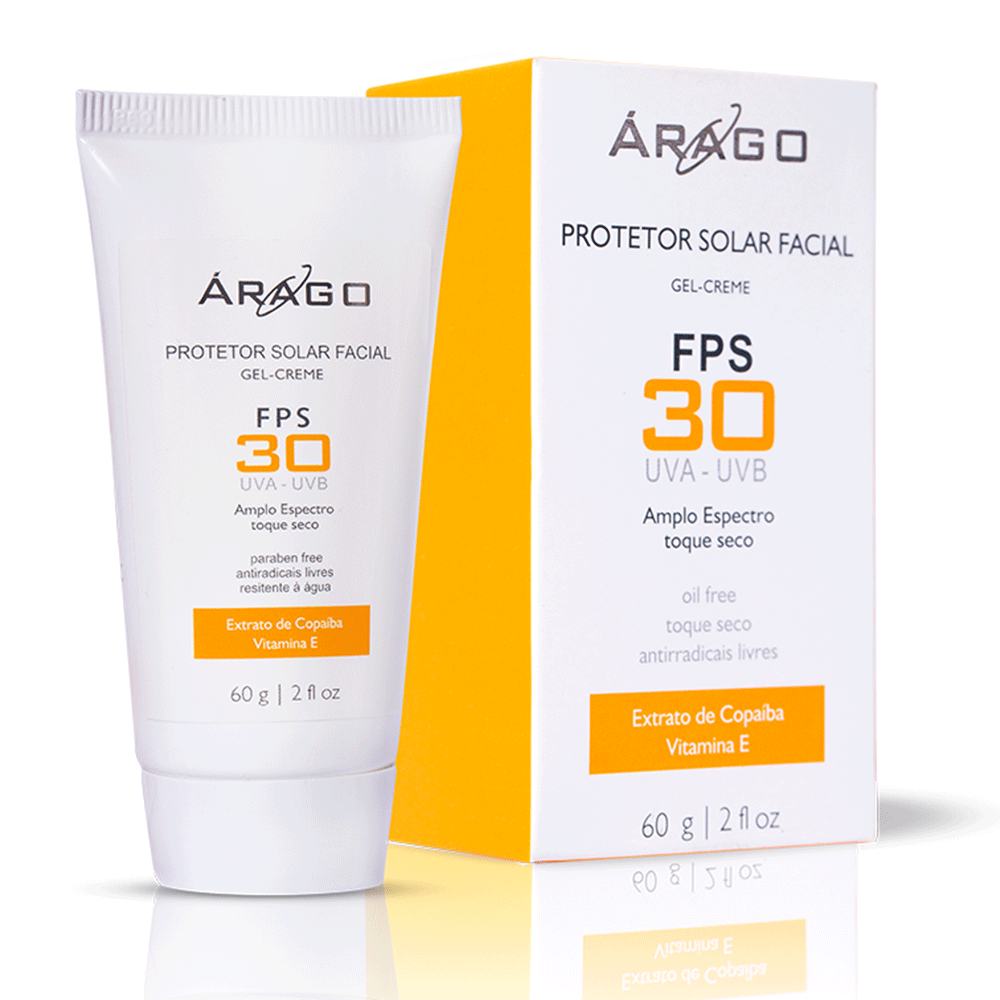 Protetor Solar Gel-creme FPS 30 Oil free 60g