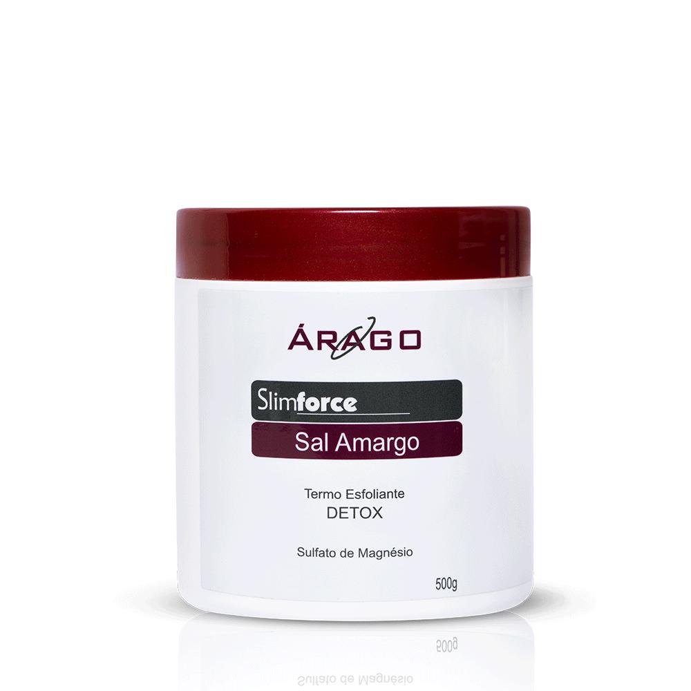 SlimForce Termo Esfoliante Sal Amargo DETOX 500g