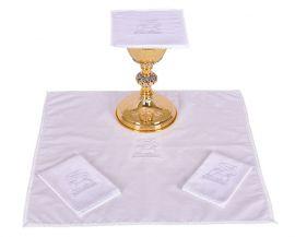 Conjunto Paños de Altar Algodón Cordero B008