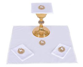 Conjunto de Altar Algodón Cordero B014