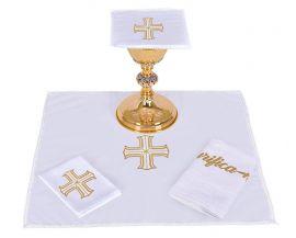 Conjunto de Altar Algodón Cruz Redentora CA106