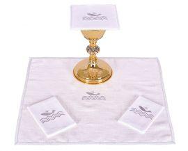 Conjunto Paños de Altar Lino Papa Francisco B185