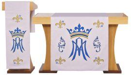 Paño de Altar y Atril Santa María S204 S205