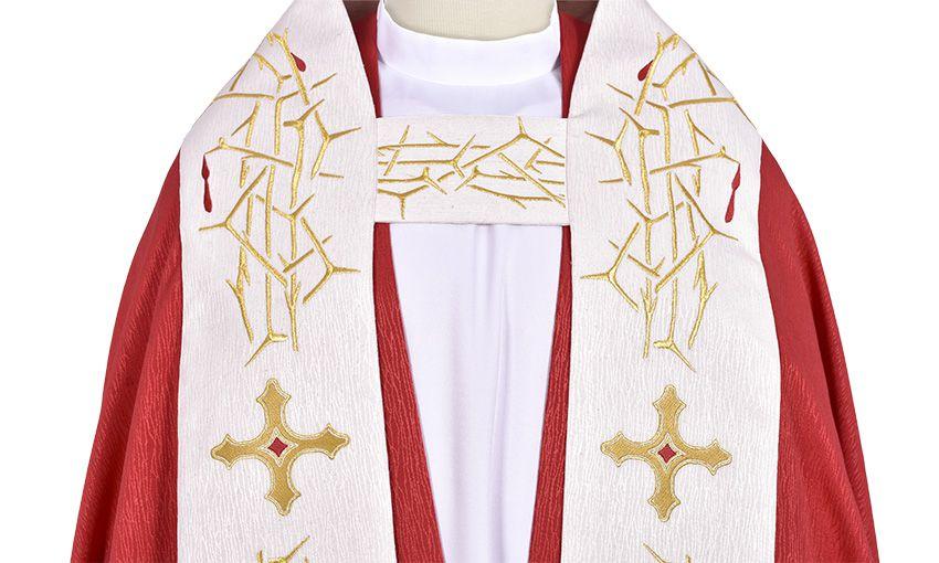 Capa de Asperges Cristo Rey CP264