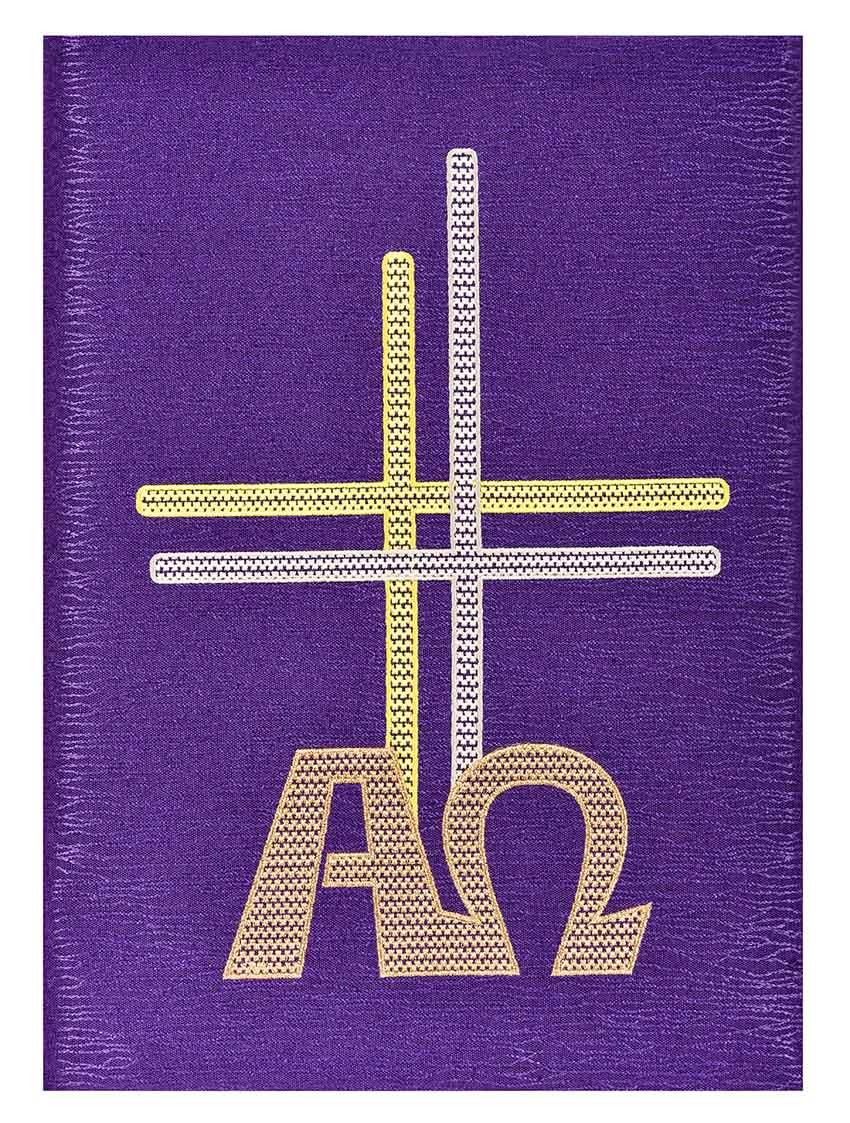 Funda Libro de los Evangelios Alpha  Omega CE302