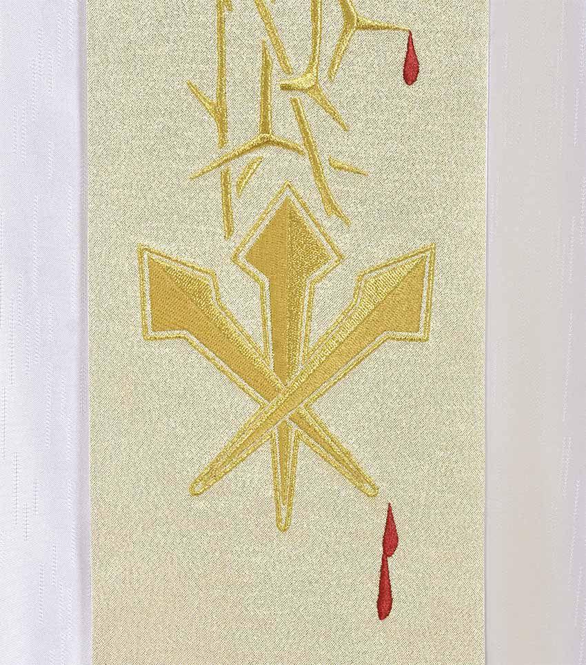 Casulla Cristo Rey CS096