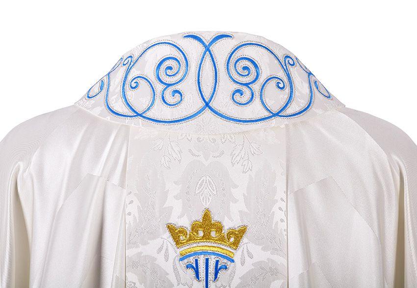Casulla Virgo Maria CS090