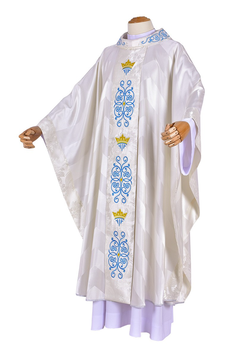 Casulla Virgo Maria CS090